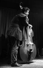 il piacere di suonare e di ascoltare (serie) (fotomie2009) Tags: bass basso musica porter trio tex murky tribute band live music concert concerto raindogs house savona musician musicista performance monocromo bn bw monochrome caricatasettembre2017 sightsound pictureandmusic musical instrument stage