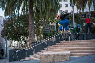 Flying Skateboard Bro