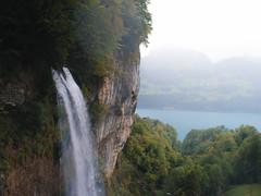 Seerenbachfälle (ThibaultPoriel) Tags: walendstadt swiss suisse alps waterfall cascade rocks cliff mountain mystical