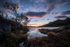 Langvatnet (B_Olsen) Tags: langvatnet skrolsvika senja troms norway hdr nature sky couds reflections landscape natur nikond801a sunset