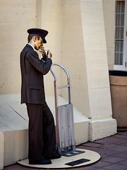 Key West Street Scenes: Bellhop statue (Ed Rosack) Tags: usa ©edrosack street thekeys keywest florida