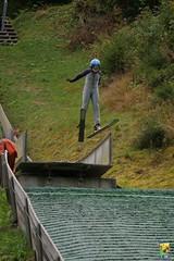 Entrainement saut U8-U10-U12, Les Contamines, dimanche 24 septem