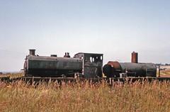 More dumped locos at Irchester (TrainsandTravel) Tags: england angleterre standardgauge steamtrains voienormale trainsavapeur dampfzug normalspur industrialrailway ironstone chemindeferindustriel pierredefer industriebahn eisenstein northamptonshire irchester