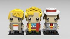 Lego Dr Who - 5th to 7th (fxandrw) Tags: drwho doctorwho williamhartnell johnpertwee patricktroughton tombaker sylvestermccoy mattsmith davidtennant petercapaldi christophereccleston peterdavidson paulmcgann colinbaker lego brickheadz johnhurt timelord