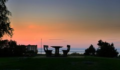 Brahehus rastplats (Ken-Zan) Tags: brahehus rastplats ljunghav kenzan lumix sweden småland evening vättern