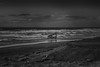 the Wreck of the Peter Iredale (writing with light 2422 (Not Pro)) Tags: thewreckofthepeteriredale peteriredale wreck shipwreck beach oregon richborder sonya77 sigma1020mmlens blackandwhite bw monochrome landscape