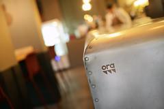 DSC_2375 (fdpdesign) Tags: pizzamaria pizzeria genova viacecchi foce italia italy design nikon d800 d200 furniture shopdesign industrial lampade arredo arredamento legno ferro abete tavoli sedie locali