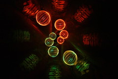 Bubbles (phill_fisher) Tags: lightpainting longexposure longexposurenightphotography orb rotation