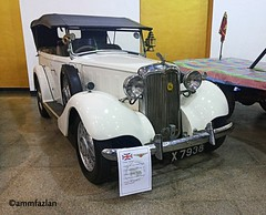 1935 Hillman Grand Tourer (ammfazlan) Tags: hillman grandtourer ammfazlan fazlaan fazlan srilanka sri lanka mobile motorshow car classic vintage old oldbeauty oldschool white colombo