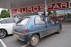 1995 Peugeot 106 Ski (>Tiarnán 21<) Tags: peugeot 106 ski blue tdz2959