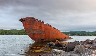 Shipwreck, Conception Bay