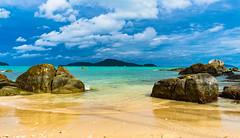 Laem Ka Beach, Rawai, Phuket, Thailand (andrécasbi) Tags: thailand thailande seascape landscape ocean mer andamansea sea sweetthailand paysage travelphotographer thailandphotographer nikon photographer travel voyage island