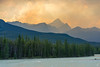 The Sky is on Fire! (Empty Quarter) Tags: sony a7r jasper national park alberta canada canadian rockies sunwapta river athabasca edith cavell mountain mountains thunderstorm clouds fire sky zeiss batis 85mm f18