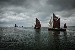 beside you (stocks photography.) Tags: whitstable kent michaelmarsh photographer photography beach seaside coast thamesbarge sail sailing water barge swale