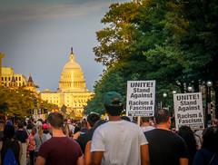 2017.08.13 Charlottesville Candlelight Vigil, Washington, DC USA 8081