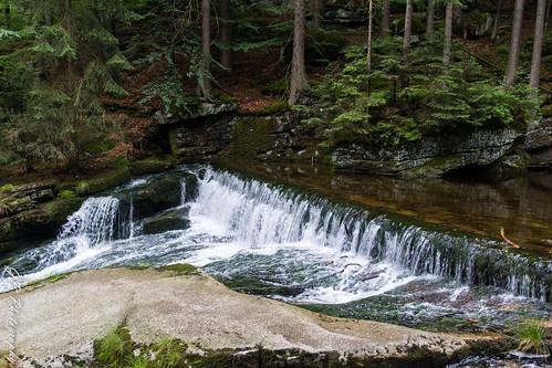 Szklarka creek above Szklarki waterfall
