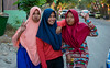 Girl will always know how to strike a pose (Vagabundina) Tags: girl woman street streetphotography kids children lady muslim hijab happy innocence person people personality southeastasia asia indonesia nusatengarra labuanbajo nikon nikond5300 dsrl 35mm