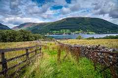 Lochearnhead from the hills (ola_er) Tags: loch lochearnhead scotland nikon hills green summer august colours landscape