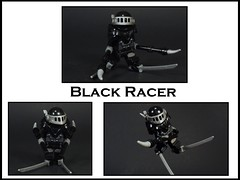 Black Racer (MrKjito) Tags: lego minifig super hero god new death black racer darkseid wards 52 classic dc comics comic custom villain diety skis reaper grim dead