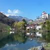 Werdenberger See, Buchs, Switzerland (pom.angers) Tags: panasonicdmctz10 500 5000 600 march 2012 switzerland werdenbergersee cantonofstgallen buchs europe alps lake mountains 100 200 300 400