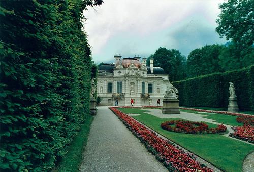 Linderhofin linna /Schloss Linderhof