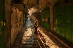 Soft Launch (David Mor) Tags: website nurlix photolighting solutions jerusalem morninglight sunrise sunray huestones alley