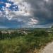 Stormy landscape of Dorog