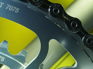 Stronglight 99 with Zicral chainrings - staying healthy -
