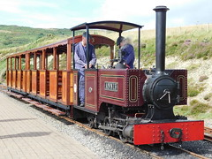 Groudle Glen Railway: Annie at Sea Lion Rocks (30/07/2017) (David Hennessey) Tags: groudle glen railway bagnall annie sea lion rocks