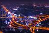 View of Bangkok at night (Sky Baiyoke) (YuanChan Photography) Tags: bangkok night skybaiyoke baiyoke tower khrung thep city cityscape timeexposure architecture nikon