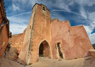 La Tour de l'horloge. Roussillon.