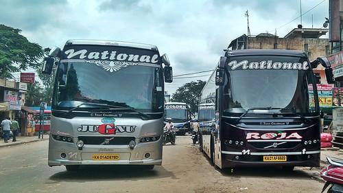 National Travels Jugnu Roja Volvo Bus A Photo On Flickriver