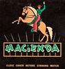 Vintage Matchbook - HACIENDA Motels - Horse and Rider Logo (hmdavid) Tags: vintage matchbook matchcover fresno california hacienda motels hotels bakersfield lasvegas indio 1950s midcentury art illustration advertising horse rider