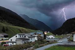 _9107715 (ernsttromp) Tags: austria olympus omd mzuiko 918mmf456 microfourthirds mirrorless mft m43 tyrol 2017 lighting 3x2 village longexposure mountain mountainscape em10 composite photostack timestack merging clouds
