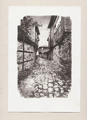 Nesserbar Street - Bergger COT320 paper (llllldanlllll) Tags: van dyke brown alternative process nessebar balkanic traditional architecture street landscape bergger paper cot 320
