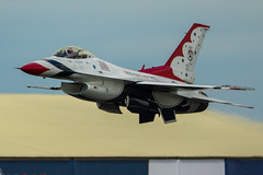 F-16C Thunderbirds (Nick Collins Photography, Thanks for 2.75m views) Tags: thunderbirds usaf usa lockheed martin f16 f16c nellis afb nevada aircraft airshow aviation flying military canon 7dmk2 500mm raf fairford riat