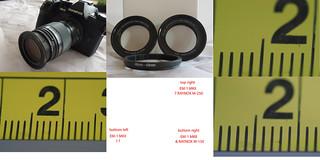 OLYMPUS EM-1 MKII & Raynox conversion lenses_