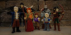 Vox Machina (cmaddison) Tags: lego criticalrole voxmachina dungeonsanddragons dd roleplaying tabletop game character figure