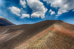 On the edge of the crater (Normann Photography) Tags: 3000metersabovesealevel etna italy parcodell´etna people sicily torredelfilosofo altitude3000m beautifulday beautifulview clouds crateribarbagallo edge highaltitude mamaetna ridge volcano vulcano vulkan catania sicilia it