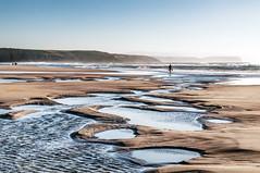Charcos en la orilla de Xagó (ccc.39) Tags: asturias gozón xagó cantábrico orilla charcos bajamar sea seascape beach sand sunset atardecer