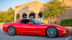 Red Corvette (Mr. Low Notes) Tags: corvette chevrolet chevy chevroletcorvette gm car automobile c6 sportscar musclecar sl1 24mm stm