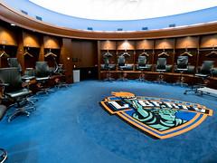 Knicks Changing Room