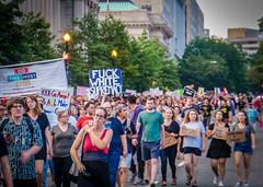2017.08.13 Charlottesville Candlelight Vigil, Washington, DC USA 8074