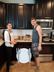 Welcoming Mei Lin of Finland (AFS-USA Intercultural Programs) Tags: 2017 arrivals finland siblings brother sister cooking