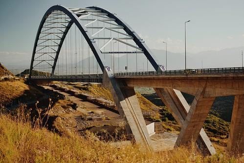Tsakona bridge Messinia