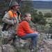 Hunting at El Mapais, New Mexico