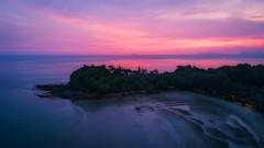 Sweet from Sky (kiatthaworn khorthawornwong) Tags: tambonsaladan changwatkrabi thailand th lanta island dji mavic sunset sweet evening travel aerial drone sky red sea sun beach forest tree thai tour flickr