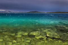 After the storm (snowyturner) Tags: croatia betina murter storm rain beach sky rocks landscape sea adriatic