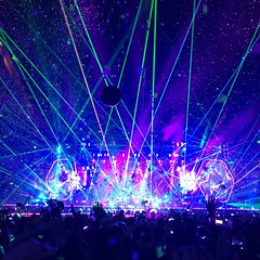 #ColdplaySeattle (kishorevasan) Tags: lights vibes music concert field centurylink seattle coldplay coldplayseattle
