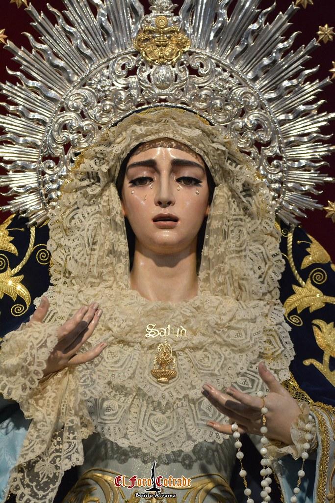 Galeria Virgen De La Salud San Gonzalo Presidiendo El Altar Mayor